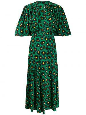 Платье мини миди леопардовое La Doublej