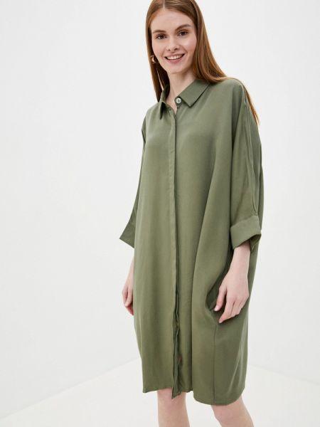 Платье рубашка - хаки Tantra