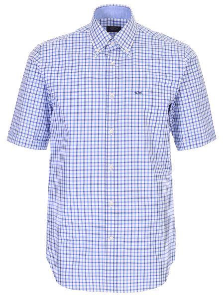Классическая рубашка с воротником с вышивкой на пуговицах Paul & Shark