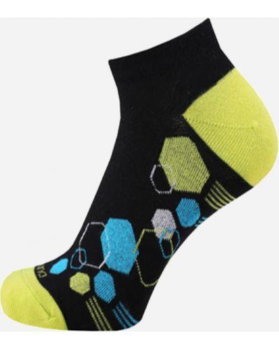 Черные носки сетчатые Duna