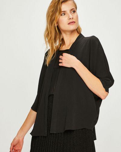 Пиджак черный без застежек Answear