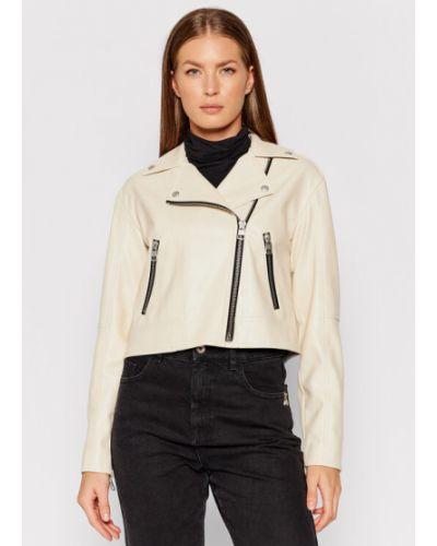Beżowa kurtka jeansowa Calvin Klein Jeans