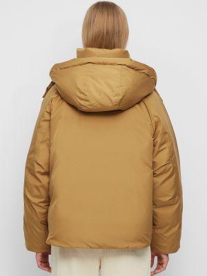 Джинсовая куртка на молнии - коричневая Marc O'polo Denim