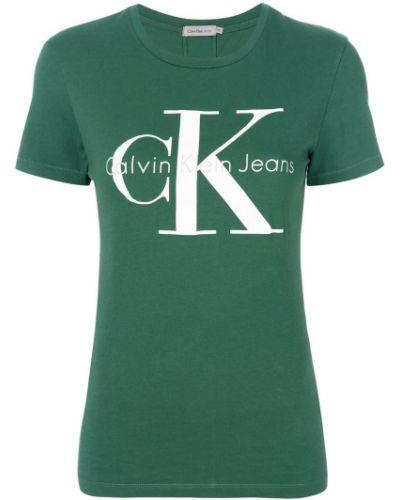 Футболка с логотипом Calvin Klein Jeans