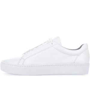 Кеды белые на шнуровке Vagabond