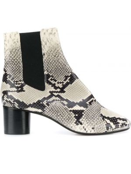 Buty na obcasie na pięcie chelsea Isabel Marant