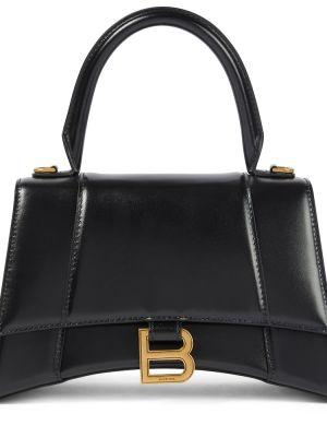 Кожаная сумка маленькая сумка-тоут Balenciaga