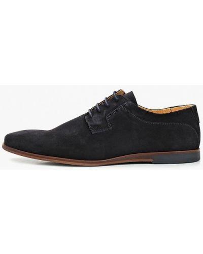 Туфли замшевые синий Zign