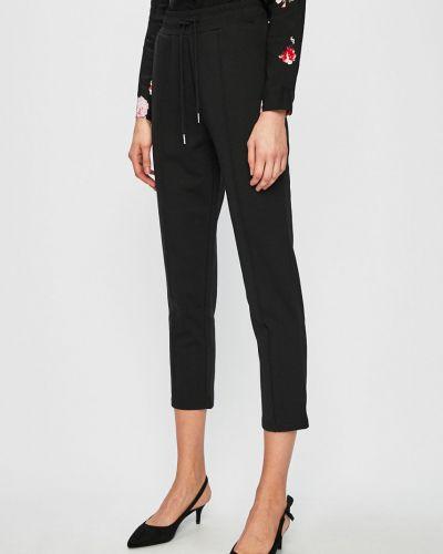 Черные брюки с карманами с открытым носком Review