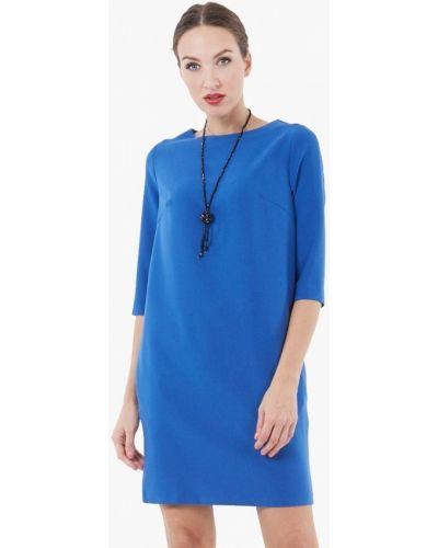 Синее повседневное платье Vladi Collection