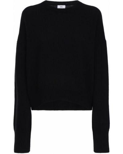 Кашемировый свитер с воротником с длинными рукавами с манжетами Ag