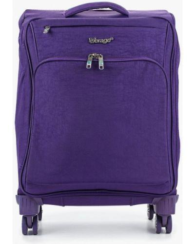 Фиолетовая дорожная сумка Verage