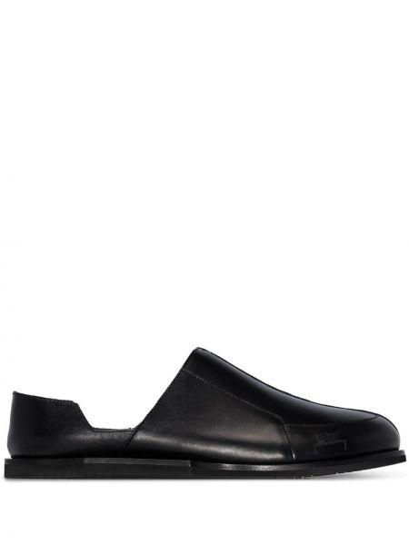 Czarne loafers skorzane A-cold-wall*