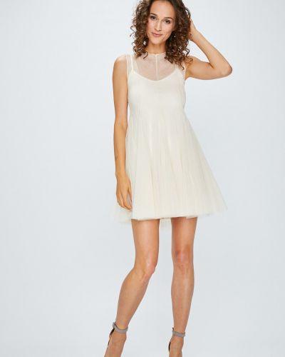 Платье мини с V-образным вырезом с вырезом Answear