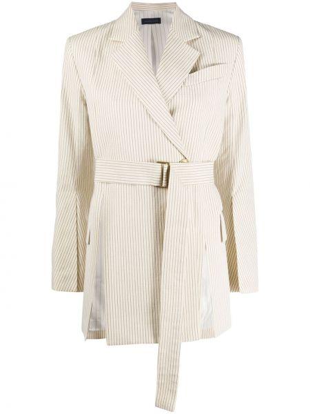 Пиджак с поясом на пуговицах свободного кроя Eudon Choi
