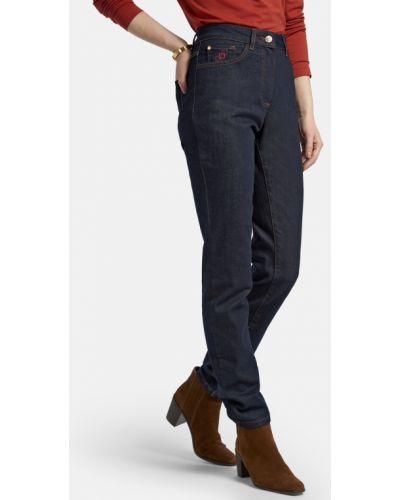 Прямые джинсы классические - синие Basler