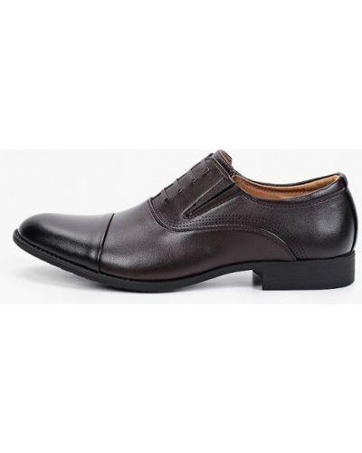 Коричневые кожаные туфли Go.do.