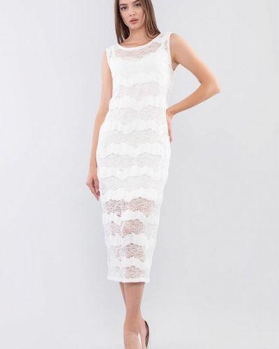 Белое вечернее платье Maxa