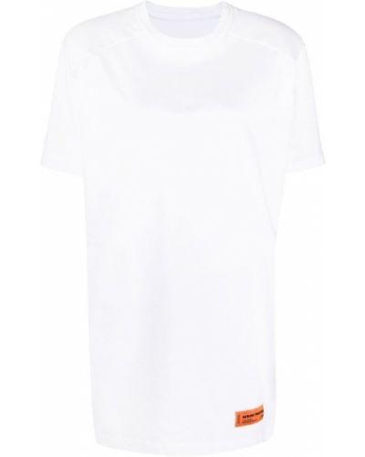 Biała sukienka Heron Preston