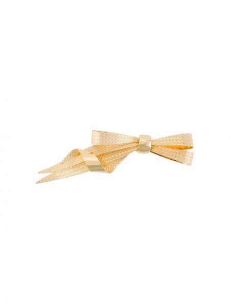 Broszka ze złota podwójnie Christian Dior Pre-owned