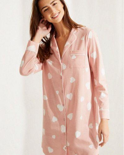 Домашнее розовое платье Women'secret
