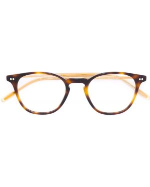 Очки хаки круглые Oliver Peoples