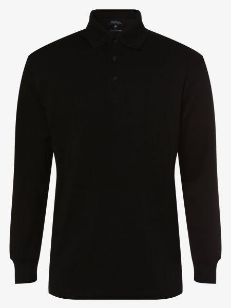 T-shirt elegancka - czarna Mc Earl