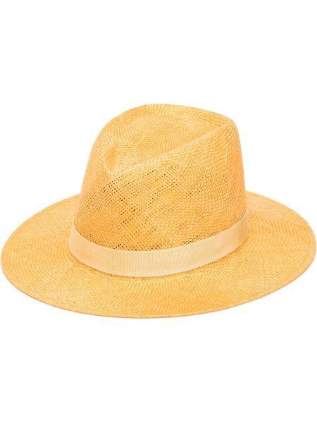 Żółty kapelusz Eugenia Kim