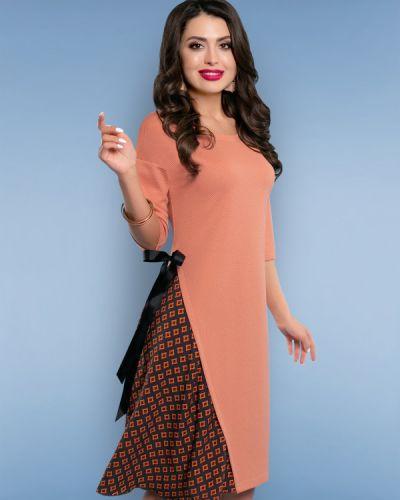 Деловое платье платье-сарафан из крепа Charutti