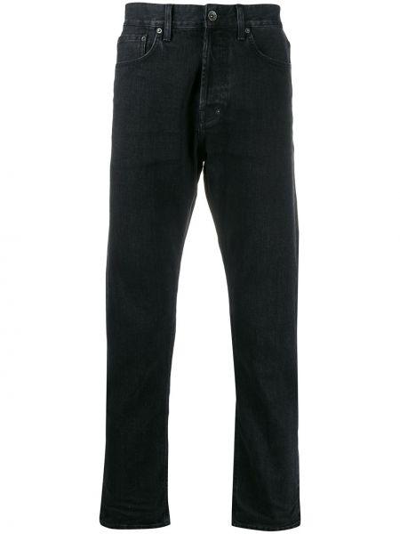 Czarne jeansy bawełniane perły Prps