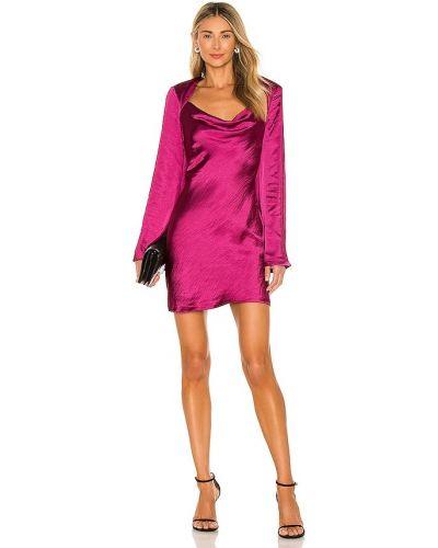 Свободное деловое розовое платье Elliatt