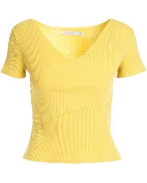 Żółta bluzka dzianinowa Multu