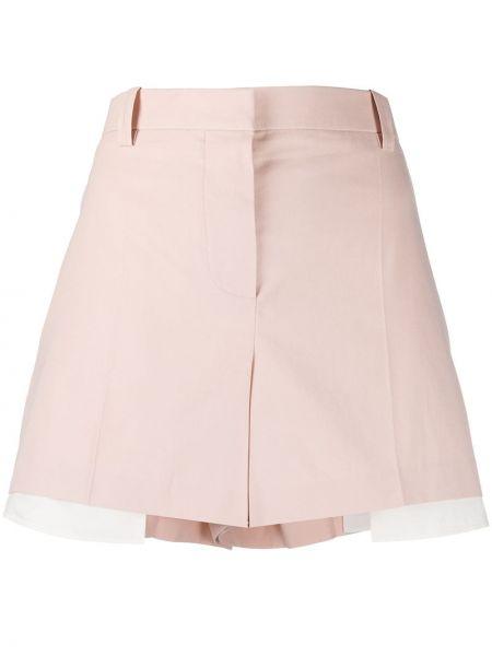 Розовые шорты с карманами на пуговицах Givenchy