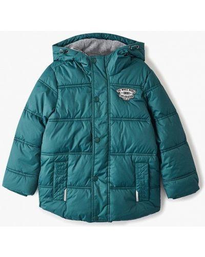 Куртка теплая зеленый Sela