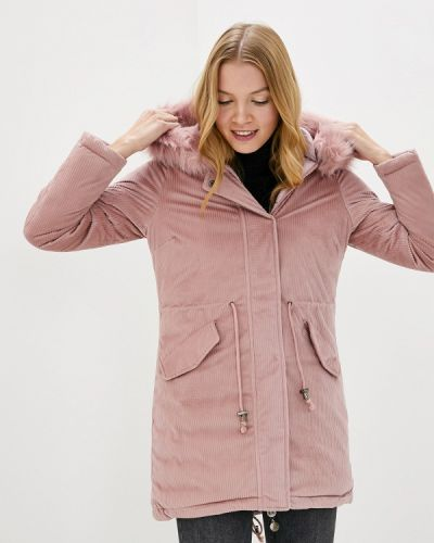 Утепленная куртка - розовая Z-design