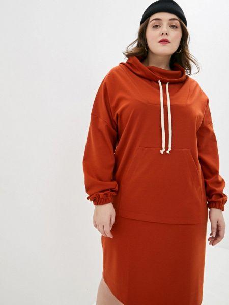Оранжевое платье Gorda Bella