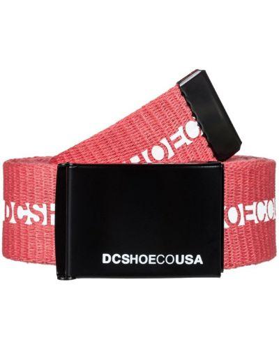 Розовый ремень Dc Shoes