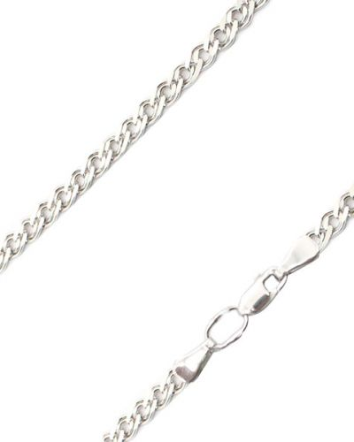 Цепочка из серебра серебряный НАЦИОНАЛЬНОЕ ДОСТОЯНИЕ