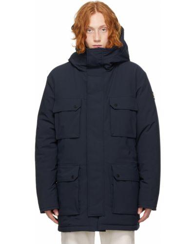 Черная стеганая куртка Kanuk
