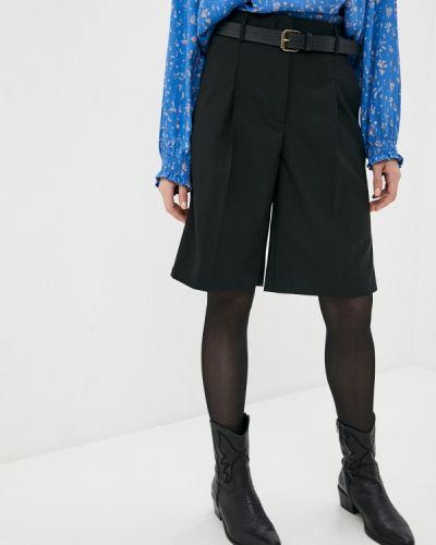 Повседневные черные шорты Marc O`polo