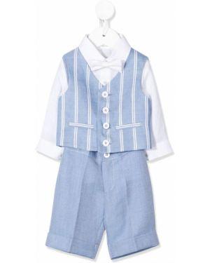 Garnitur niebieski kostium Colorichiari