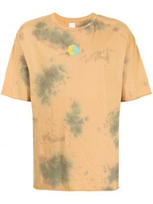 Żółty t-shirt bawełniany krótki rękaw Alchemist