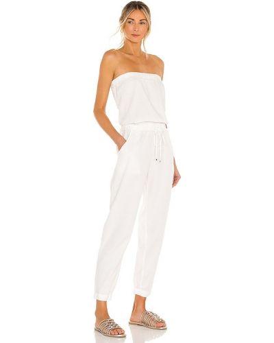 Комбинезон с декольте - белый Yfb Clothing