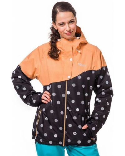 Черная куртка сноубордическая Horsefeathers®