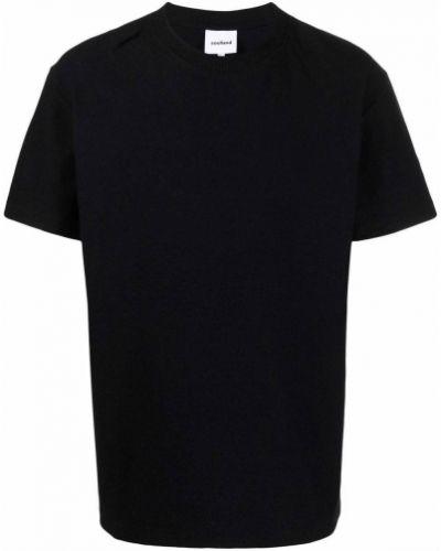 Czarna t-shirt krótki rękaw Soulland