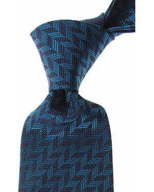 Brązowy krawat z jedwabiu Missoni