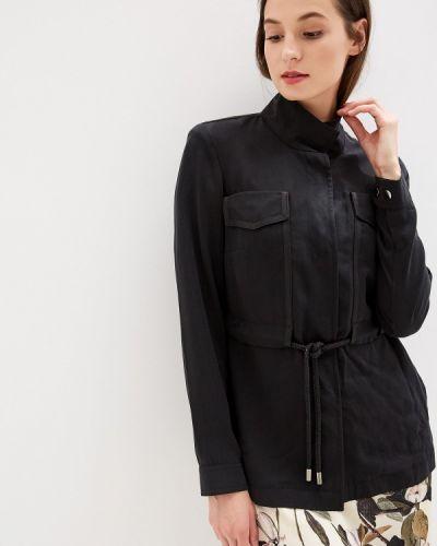 Куртка черная весенняя Madeleine