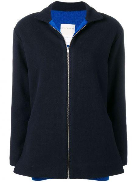 Нейлоновая синяя спортивная куртка Stephan Schneider