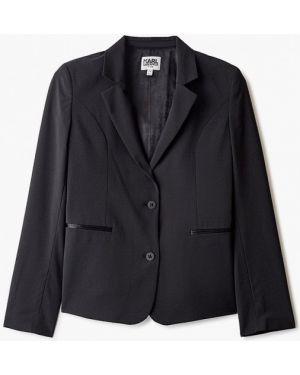 Пиджак черный Karl Lagerfeld Kids