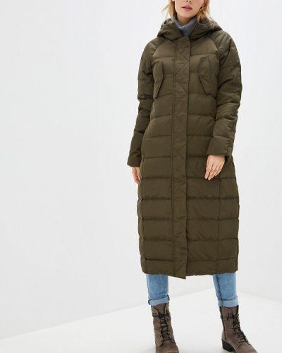 Зимняя куртка осенняя зеленая La Reine Blanche